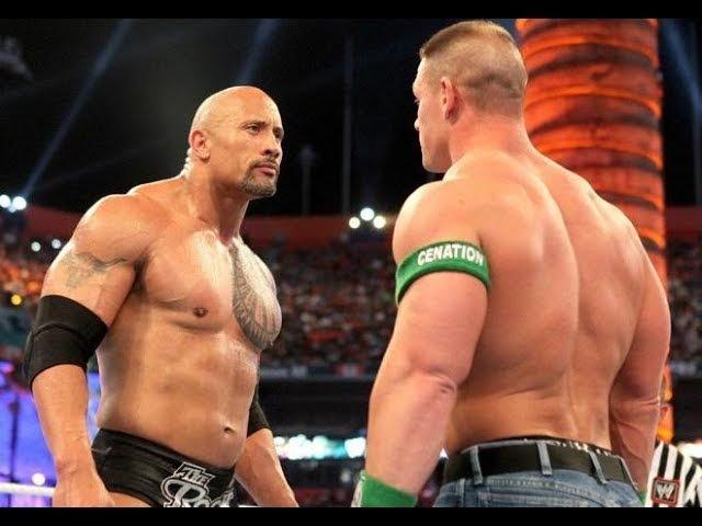 WWE Wrestlemania 28 John Cena vs The Rock Full Highlights Match HD | Once Life Time