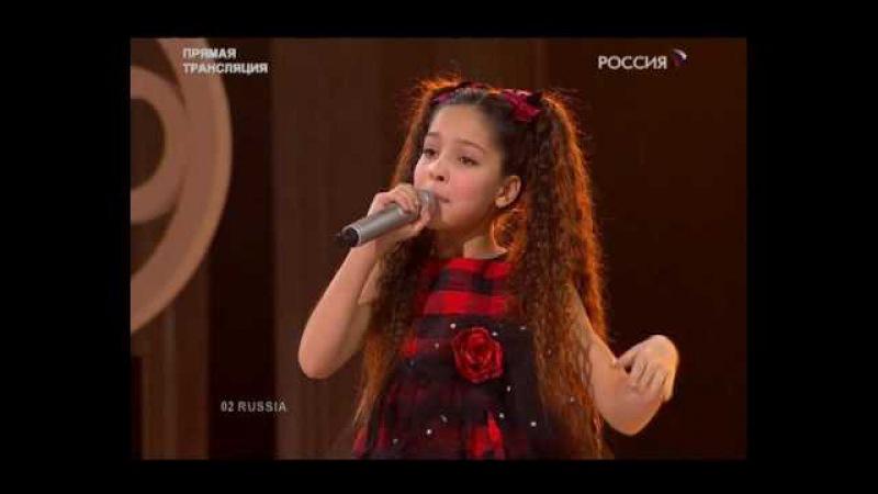 Junior Eurovision 2009: Russia - Ekaterina/Katya Ryabova - Malenkiy Prints (Live @ JESC)