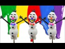 Learn Colors With Play Doh Modelling Clay Olaf and TooHee Molds Surprise Toys for Kids