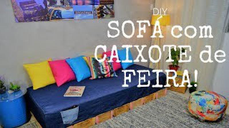 Como Fazer um Sofá - DIY