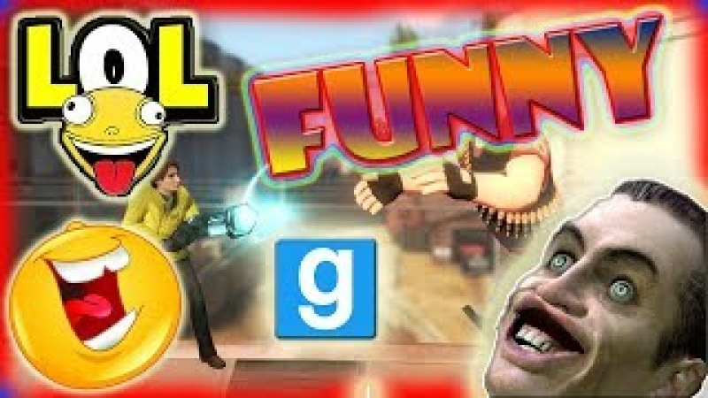 Garry's Mod Funny Moments....Glithes and fun ...Crazy Montage...😝😝😝