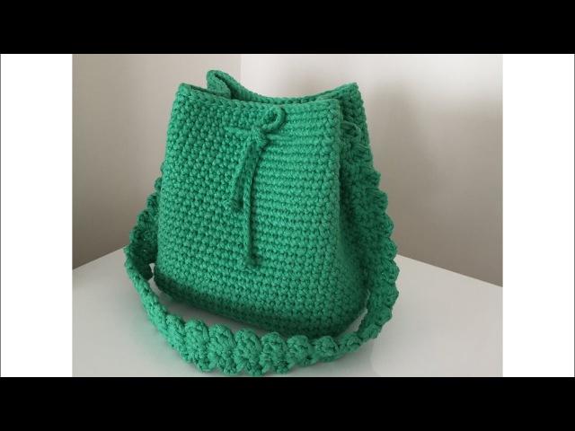 Penye ip ( Ribbon ip ) çanta yapımı 1.kısım
