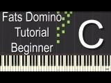 Fats Domino Piano Tutorial - Beginner
