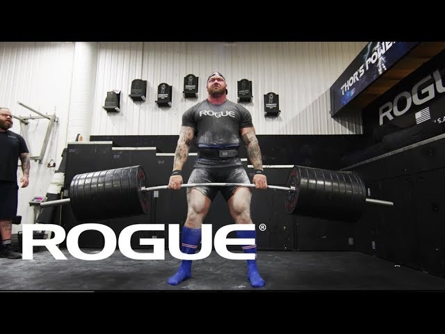 Road to the Arnold 2018 — Hafthor Bjornsson 8k
