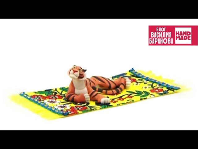 Ковёр для куклы (игрушечный коврик) / DIY / ПОДЕЛКА СВОИМИ РУКАМИ