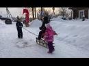 Наши Зимние встречи с Командиром дебаркадера