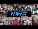 Ed Sheeran - Perfect (Gen Halilintar Official Cover Video) 11 Kids,MomDad