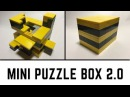 Tutorial on How to Build the Mini Puzzle Box 2.0 INSANELY HARD - 40 SUB SPECIAL!