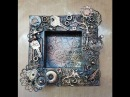 Mixed Media Steampunk Altered Frame