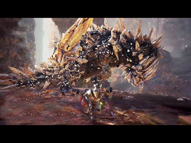 MONSTER HUNTER WORLD - Rotten Vale Coral Highlands Gameplay @ 1080p HD ✔