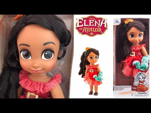Elena of Avalor Disney's Animators Collection Doll