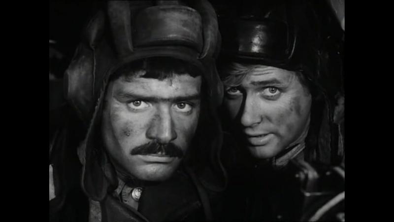 Четыре танкиста и собака (1968). 13 серия. Побег на танке с артиллерийского полигона