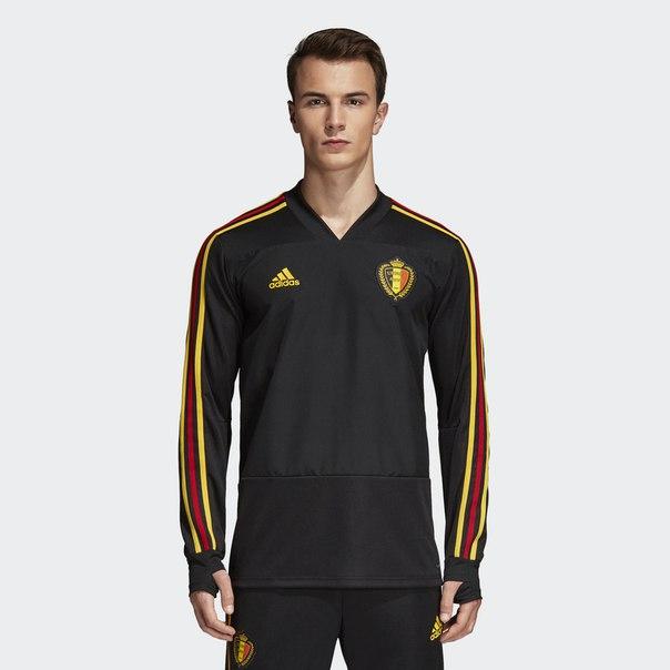 Тренировочный джемпер сборной Бельгии