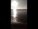 зимний пляж Крым Николаевка