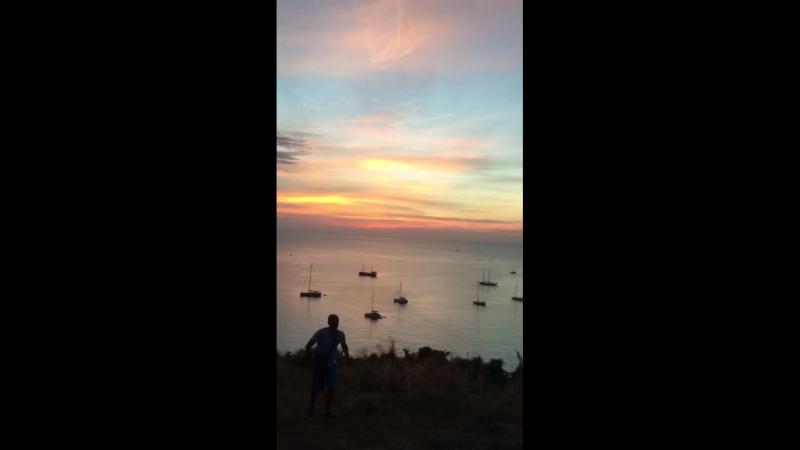 Смотровая площадка пляжа Nai Harn Пхукет Тайланд