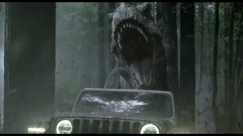 Реклама с Т-Рексом и ГолдблюмомOfficial Jeep Super Bowl Commercial ¦ Jeep Jurassic