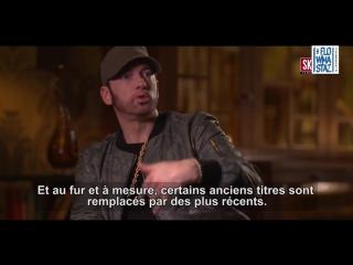 Eminem - интервью про процесс создания альбомов, новая школа, работа с Beyonce [NR]
