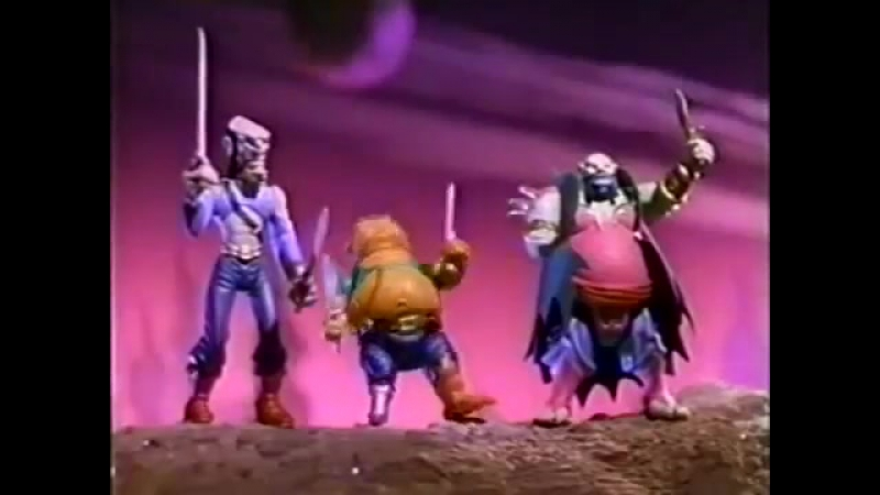 Пираты тёмной воды The Pirates of Dark Water Action Figures and Ship Commercial