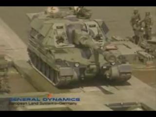 General Dynamics European Land Systems-Германия - M3 амфибия Bridging System [480p]
