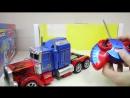 👍МАШИНКИ CARS Радиоуправляемый робот трансформер - тягач. Transforming Birthday