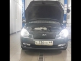 Hyundai Verna (Хендай Верна) ДХО Optima с функцией поворотника