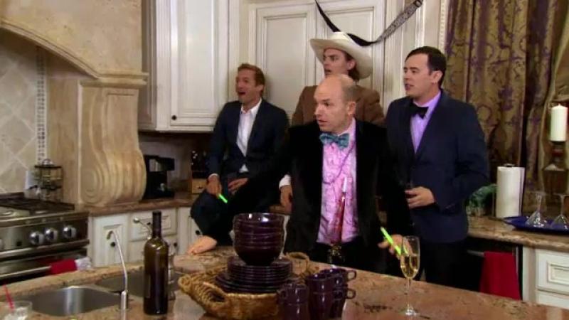 Холостяк . Жгучая любовь / Burning love 2 сезон 2 серия The First Cocktail Party