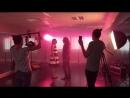 L'extrait du tournage du clip Viens je t'emmène (John Eyzen, Moniek Boersma)