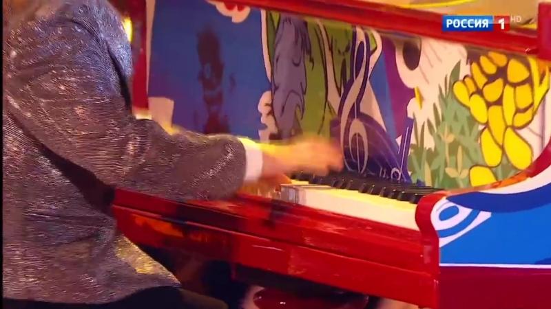 София Курлович и Даниил Гулевич. П. Дезмонд, «Таkе five». Синяя птица 2017. Новы