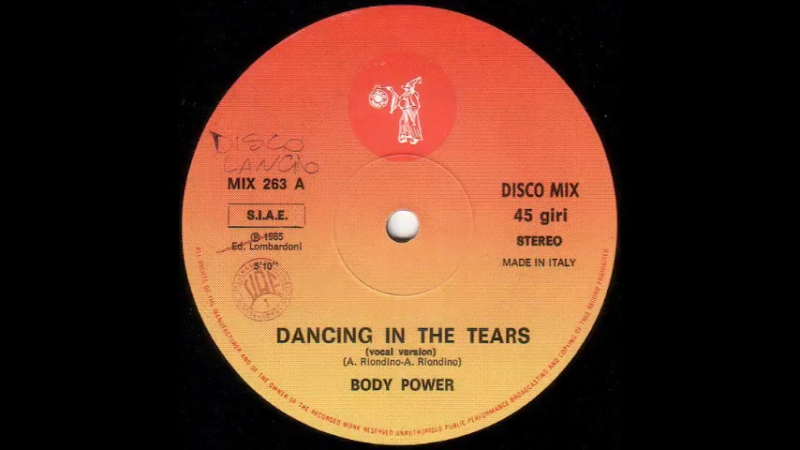 Body Power – Dancing In The Tears (Vocal Version)