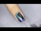 Fizz — Простой дизайн ногтей при помощи скотча(1)