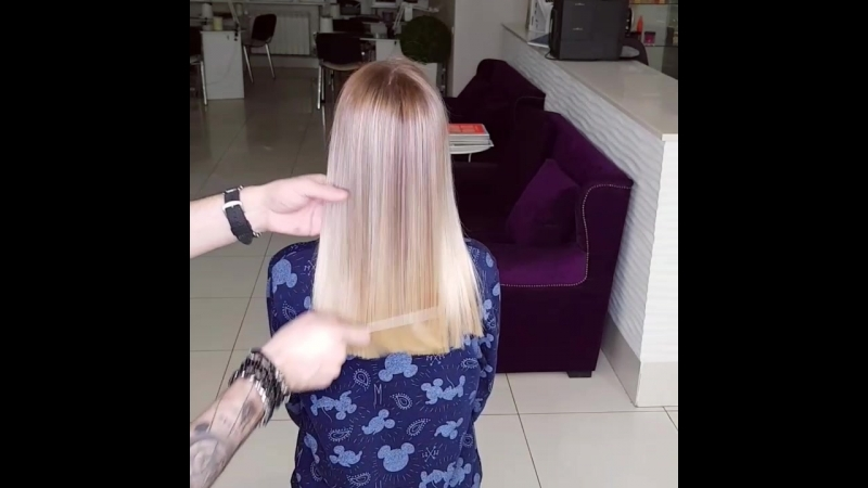Hair Color TRANSFORMATION by Amid Radjabov