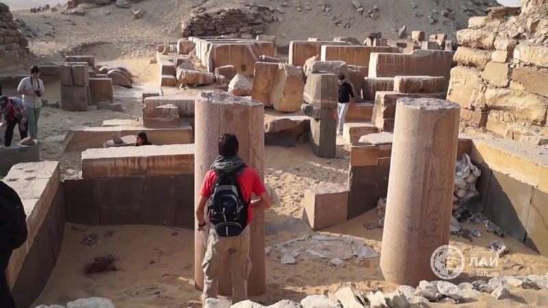 Пирамиды и храмы Абусира