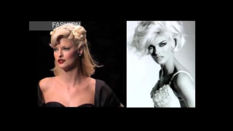 LINDA EVANGELISTA History 1993-2004 - Fashion Channel