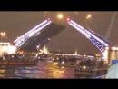 разведение мостов Питер август 2017