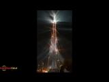 Новогодний фейерверк в Дубай