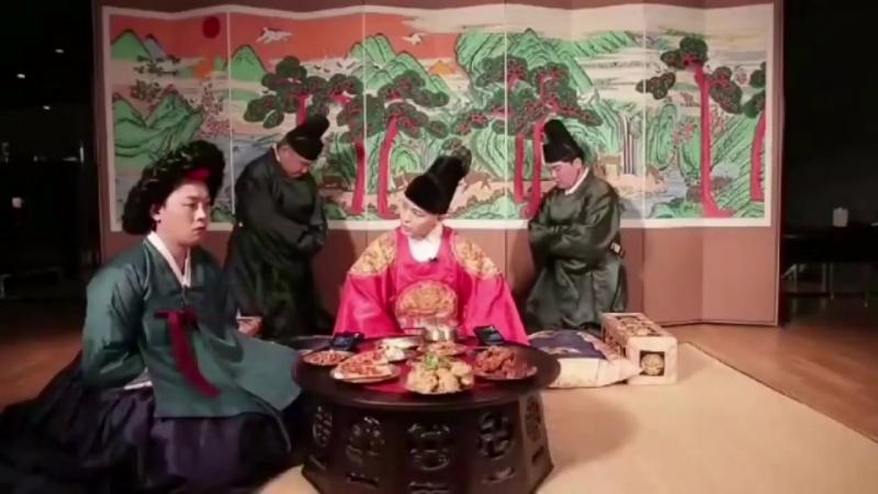 Принц Хун, придворная дама и евнухи - Bang Bang Bang =)