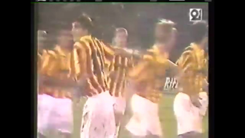 Кубок УЕФА 1996/97. Алания (Владикавказ) - Андерлехт (Бельгия) - 2:1 (1:1).