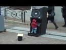 Жесткий пацанчик в роли диджея на улицах мегополиса новые лучшие прикол самые смешное видео Фейлы fail коты девушки путин ржа
