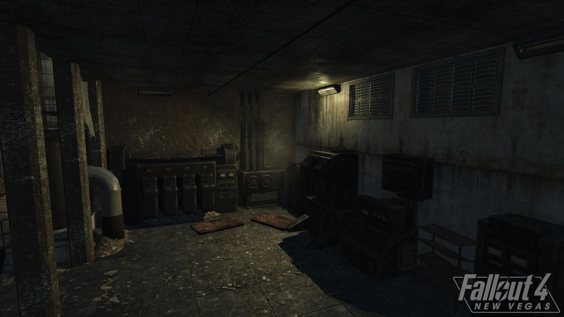Разработчики Fallout 4: New Vegas продолжают работу над игрой, и на этот раз они рассказали о том что как тяжело воссоздать промышленные объекты из New Vegas и вот один из примеров их усердной работы: