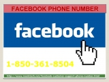 Facebook Phone Number 1-850-361-8504 official Page to Flush Away your Facebook problem