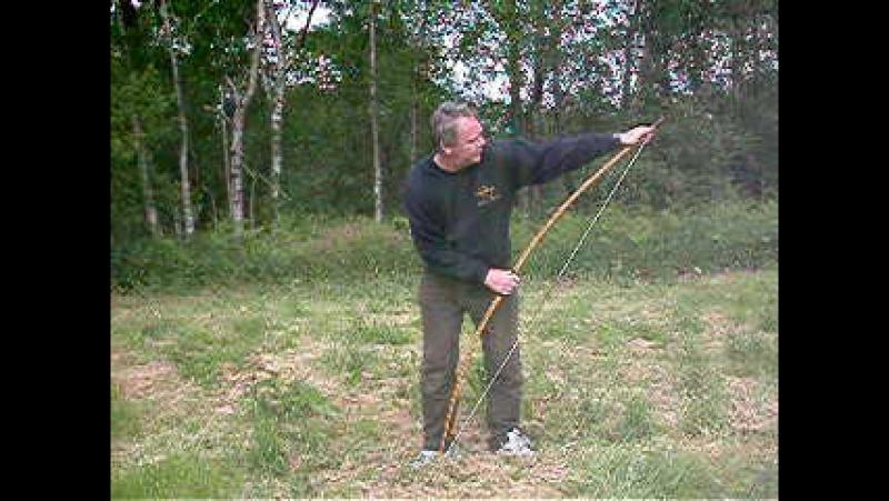 Stringing a Longbow