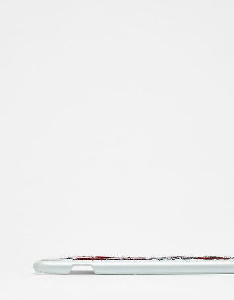 Чехол с цветочной вышивкой для iPhone 6 plus/7 plus/8 plus