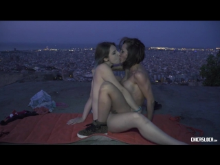 [ChicasLoca.com/PornDoePremium.com] Betty Foxxx, Yuno Love - Wild Spanish lesbians Betty Foxxx & Yuno Love in hot public outdoor