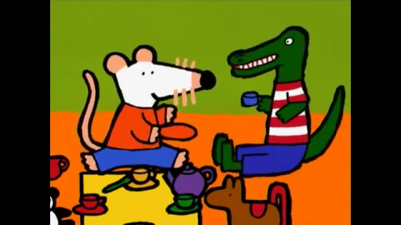 Maisy Mouse Birthday Part 3 the cartoon is very nice and kind
