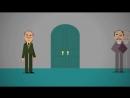 Языческие символы на стенах домов - мультфильм о Петербурге