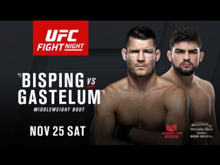 UFC Fight Night: Bisping vs. Gastelum (25 ноября в 11:45 МСК)