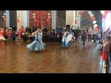 Slow waltz, Юниоры 4 танца 🥇Юля, Анжела, Наташа