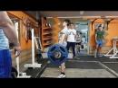 137,5. Ишхан готовиться к покорению рекорда России в становой тяге по юношам в весовой категории 56 кг