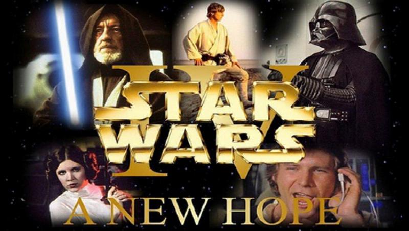 Звёздные войны Эпизод 4 Новая надежда Трейлер 1977