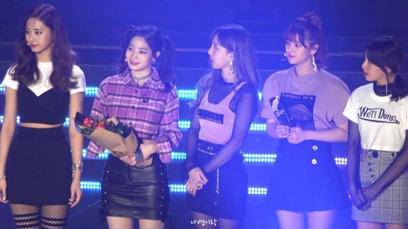 170920 TWICE won Bonsang Daesang @ 2017 Soribada Best K-Music Awards (Nayeon focus)